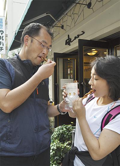 旧東海道を食べ歩き