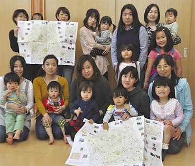 区全域の子育て地図完成