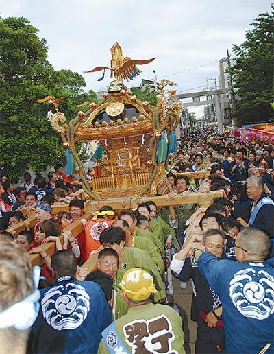 潮田神社例大祭、あす開幕