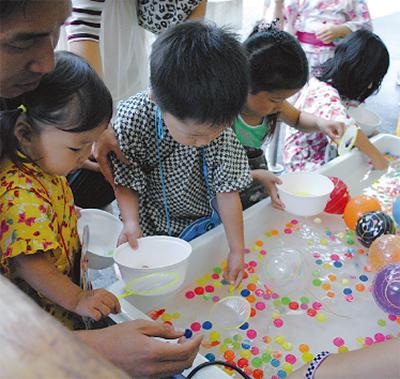 鶴見神社で懐かしの縁日