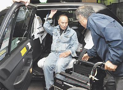 車いす対応へ社員研修