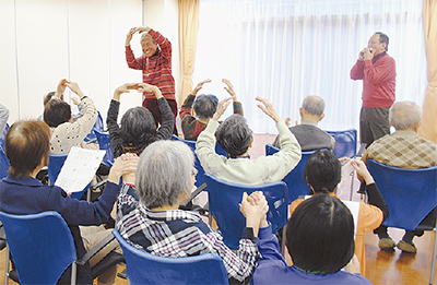 ココファン鶴見を慰問