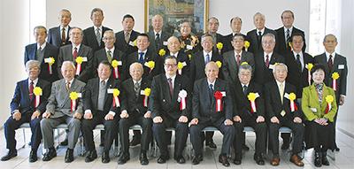 自治会長29人に永年表彰