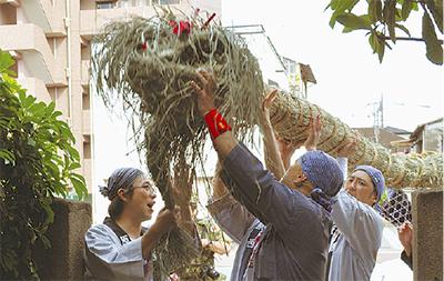 生麦の伝統芸能一堂に