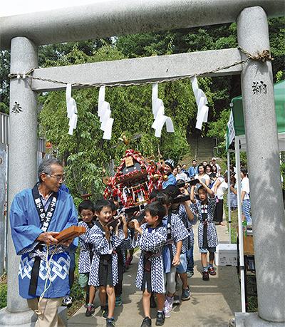 60年ぶり「祭」再興