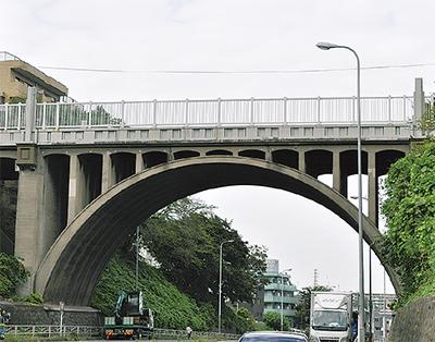 響橋が土木遺産に