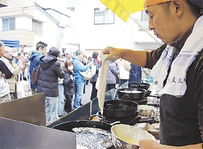 生麦旧東海道に1万5千人