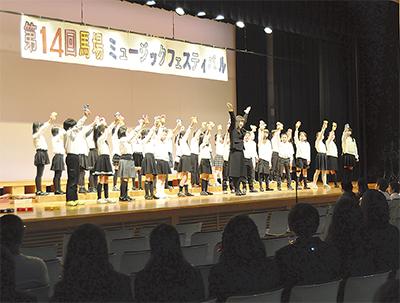 馬場っ子主役の音楽祭