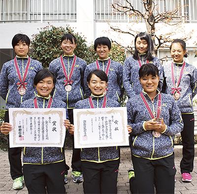 白鵬テニス部全国4強