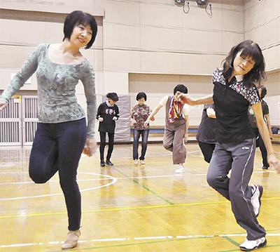 横浜発祥ダンスで元気に