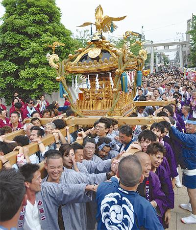 潮田・生麦 伝統の祭り開幕