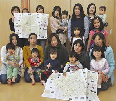 子育て地図に寄付34万円