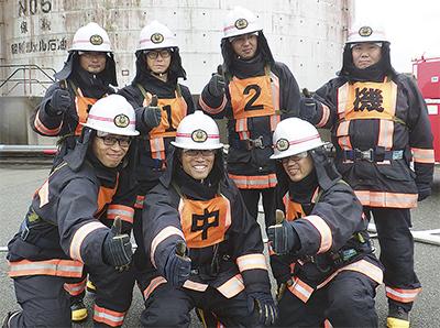 消防技術大会で全国2位