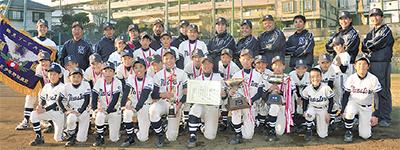 白幡ニュースターズ 12年ぶりリーグ制覇