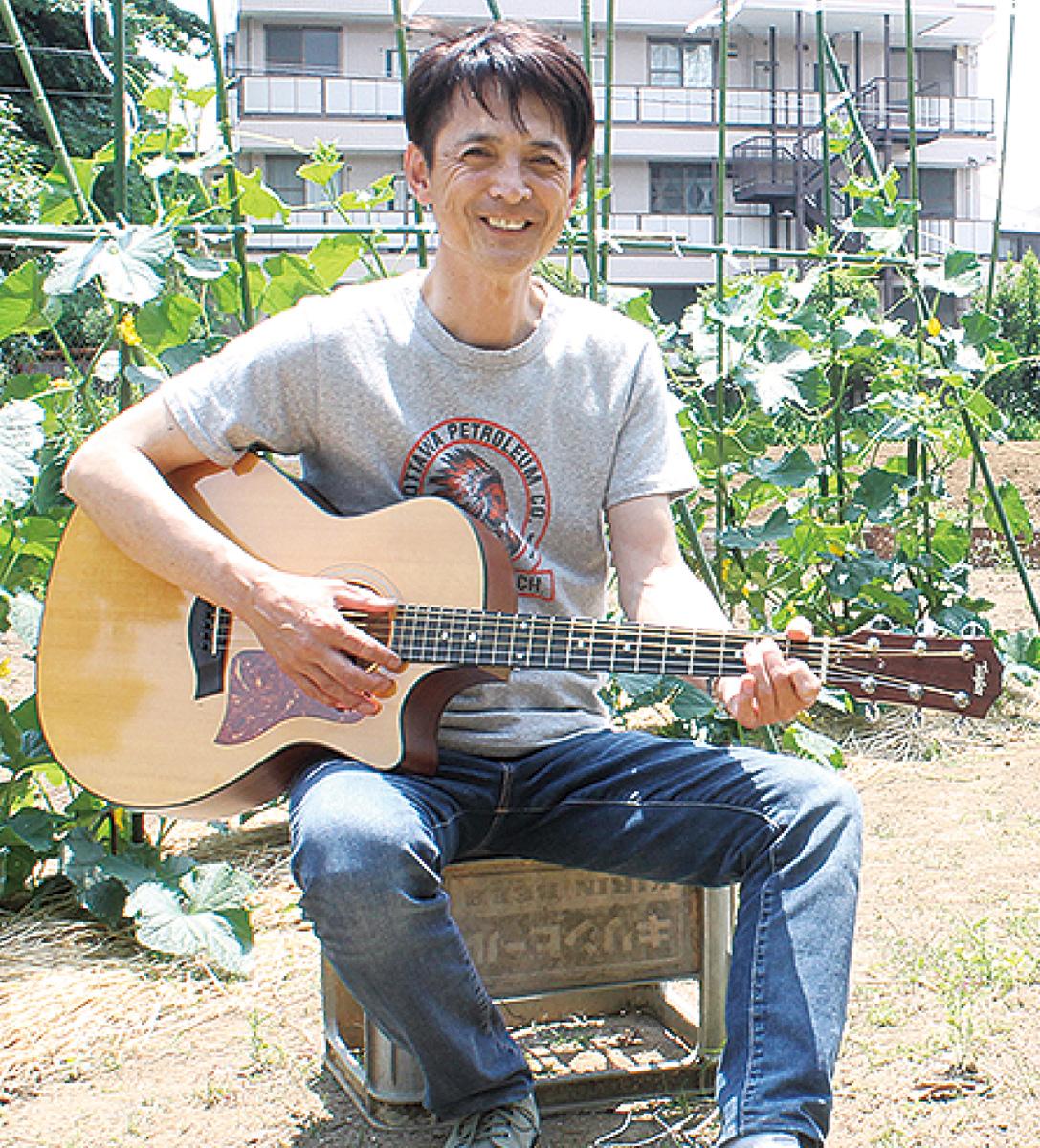 駒岡のシンガーがライブ