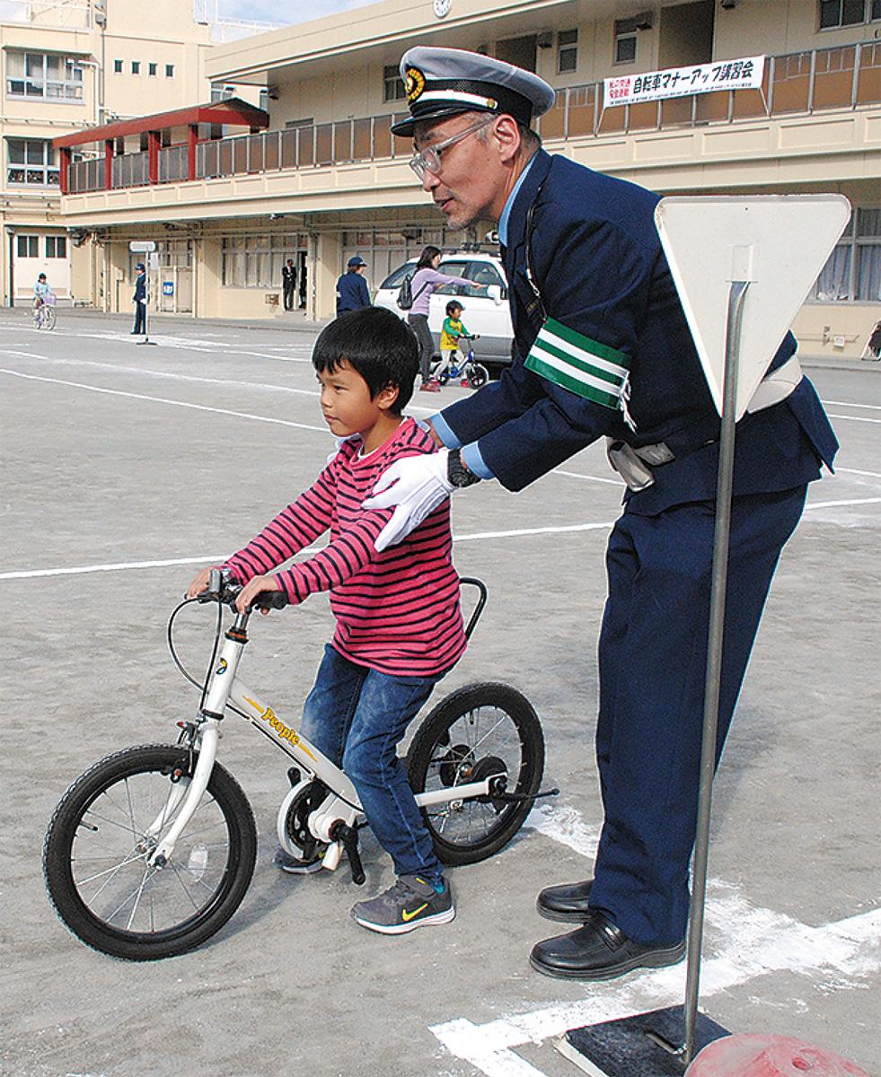 自転車マナー向上へ講習会