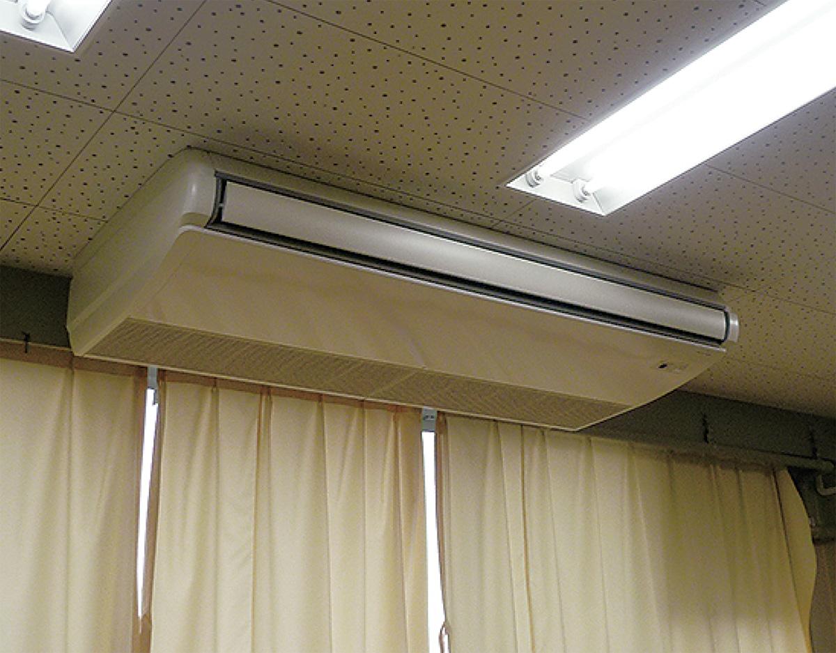 体育館にエアコン設置へ