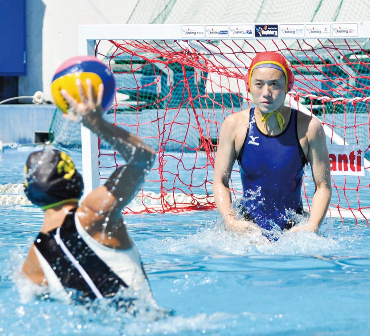 三浦選手が水球で五輪へ 白鵬女子教諭 「プレーで元気を」 | 鶴見区 | タウンニュース