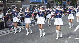 音楽隊のパレード