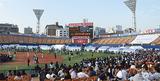 来季も本拠地となる横浜スタジアム(写真は11月のファン感謝デー)