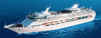 全長264メートルの客船レジェンド・オブ・ザ・シーズ
