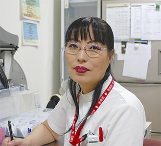 講師の大道寺桂子臨床検査技師