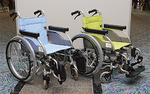 市内の施設へ贈られる車椅子