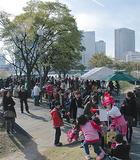 昨年の公園フェスタは約800人が参加した