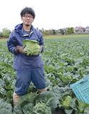地元農家の石川悠紀さん