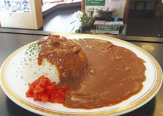 400円で提供中の「どんりゅう庵カレー」