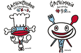 安齋さんがデザインしたキャラクター