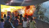 災害シアターのイメージ(市消防局提供)