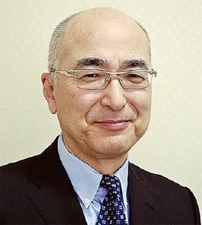 講演する小宮山医師