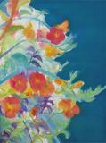 講師の高木彩さんの作品≪Bless≫2015年綿布、アクリル72.7×91.0cm