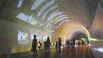 トンネルを活用したイベントの様子