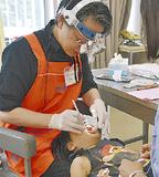 地元歯科医が健診する