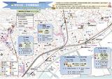 子安東部地区の地区マップ