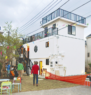 高島台に住宅型複合施設