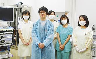 消化器内科の職員