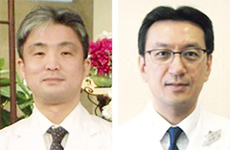 井野院長(右)と米田講師