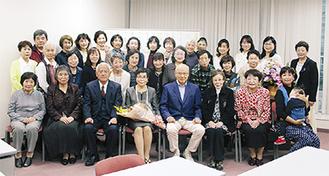 15周年を祝う「青海波」