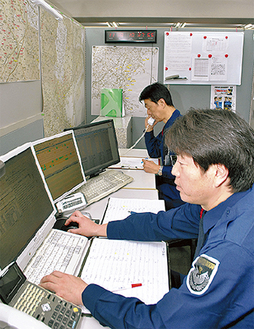 システムを管理するスタッフ