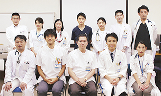 肺がん治療センターのスタッフ