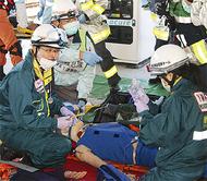 複数機関で事故対応