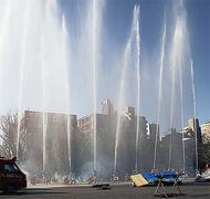 反町公園で「区消防出初式」