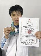 北田くん(セントラル横浜)が金メダル