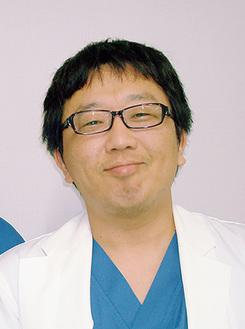 循環器内科医長の毛利晋輔医師