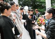専門学生が結婚式運営