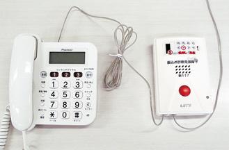 固定電話に接続するイメージ