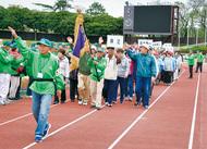 三ッ沢で手づくり運動会